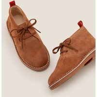 Lace-up Desert Boots Brown Boys Boden, Tan