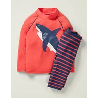 Surf Suit Red Boys Boden, Red