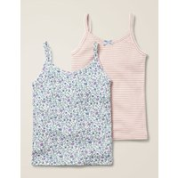 2 Pack Vests Ivory Girls Boden, Ivory