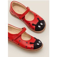 Novelty Mary Janes Red Girls Boden, Red