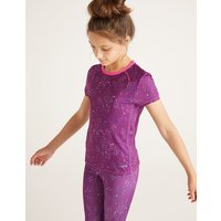 Active T-shirt Purple Girls Boden, Purple