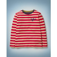 House Breton Red Girls Boden, Gold