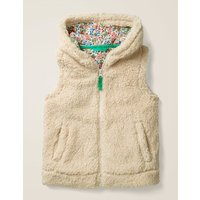 Cosy Gilet Natural Girls Boden, Beige