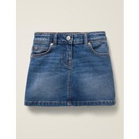 Five Pocket Denim Skirt Denim Girls Boden, Denim