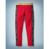 Harry Potter Cosy Leggings Red Girls Boden, Red