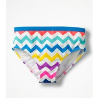 Patterned Bikini Bottoms Ivory Girls Boden, Pink