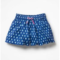Printed Culottes Blue Girls Boden, Blue