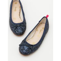 Ballet Flats Navy Girls Boden, Navy