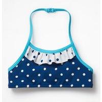 Schönes Bikinioberteil Blue Mädchen Boden, Blue