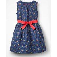 Vintage Dress Blue Girls Boden, Blue