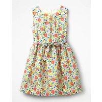 Vintage Dress Natural Girls Boden, Multicouloured