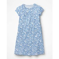 Printed Nightie Blue Girls Boden, Blue