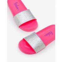 Pool Slides Pink Girls Boden, Pink