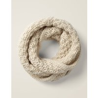 Chunky Knitted Snood Ivory Girls Boden, Beige