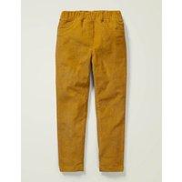 Cord Leggings Yellow Girls Boden, yellow