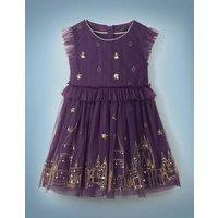 Hogwarts Enchanted Tulle Dress Purple Girls Boden, Purple