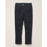 Party Trousers Navy Girls Boden, Blue