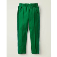 Ponte Jersey Trousers Green Girls Boden, Green
