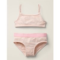 Crop Top and Pants Set Pink Girls Boden, Ivory