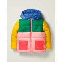 Lightweight Puffer Jacket Yellow Women Boden, Yellow