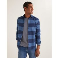 Image of Slim Fit Indigo Stripe Shirt Blue Men Boden, Indigo