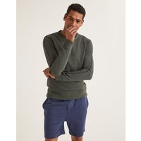 Ashbourne Sweatshirt Green Men Boden, Green