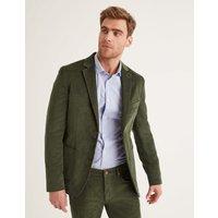 Westbourne Cord Blazer Green Men Boden, Green