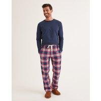 Brushed Cotton Pyjama Bottoms Red Men Boden