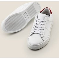 Boden Leather Trainers White Men Boden, White