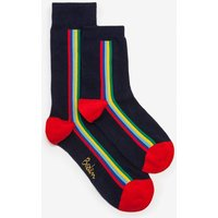 Mini Me Socks Navy Men Boden, Multicouloured