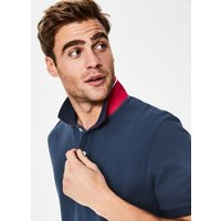 Pique Polo Blue Men Boden, Blue