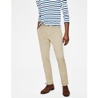 Lightweight Slim Chinos Natural Men Boden, Natural