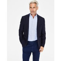 Boden Canvey Textured Blazer Navy Men Boden, Navy