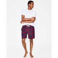 Brushed Cotton Pyjama Shorts Red Men Boden