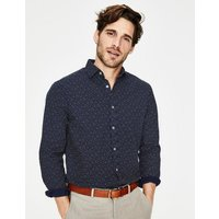 Penrith Shirt Navy Men Boden, Navy