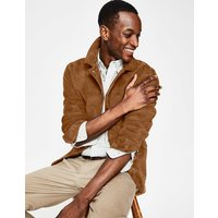 Canonbury Suede Jacket Brown Men Boden, Brown