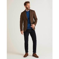 Boden Middleham Tweed Blazer Brown Men Boden, Brown