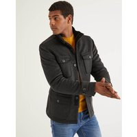 Arlington Field Coat Grey Men Boden, Black