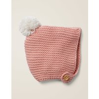 Knitted Bonnet Pink Baby Boden, Pink