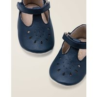 Supersoft Leather Shoes Navy Baby Boden, Navy