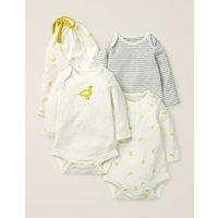 3 Pack Ducks Bodies Multi Baby Boden, yellow