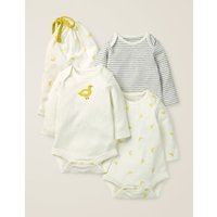 3 Pack Ducks Bodies Multi Baby Boden, yellow