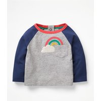 Wonderful Weather T-shirt Grey Baby Boden, Grey