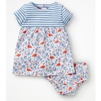 Animal Jersey Dress Pink Baby Boden, Multicouloured
