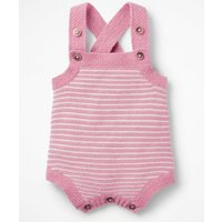 Knitted Cashmere Romper Purple Baby Boden, Pink