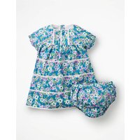 Nostalgic Tiered Woven Dress Multi Baby Boden, Pink