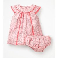 Tropical Printed Dress Pink Baby Boden, Pink