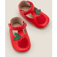 Supersoft Apple Shoes Red Baby Boden, Red