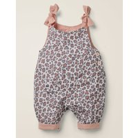 Heart Pocket Cord Dungaree Grey Baby Boden, Grey