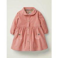 Cord Shirt Dress Pink Baby Boden, Pink